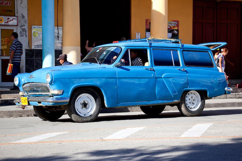 Station wagon in Holguin, Cuba.