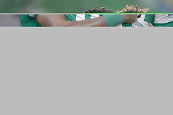 September 20, 2018 - Lisbon, Portugal - Sporting's forward Jovane Cabral from Cabo Verde (R ) celebrates after scoring Sporting's second goal with forward Raphinha from Brazil (L) who scores the first and forward Fredy Montero from Colombia during the UEFA Europa League Group E football match Sporting CP vs Qarabag at Alvalade stadium in Lisbon, on September 20, 2018. (Credit Image: © Pedro Fiuza/NurPhoto/ZUMA Press)