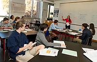 St. Paul's School classes and chairs.    Karen Bobotas for St Paul's School