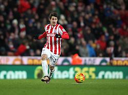 Bojan Krkic of Stoke City - Mandatory byline: Robbie Stephenson/JMP - 13/01/2016 - FOOTBALL - Britannia Stadium - Stoke, England - Stoke City v Norwich City - Barclays Premier League