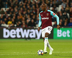 April 16, 2018 - London, England, United Kingdom - West Ham United's Angelo Ogbonna.during English Premier League match between West Ham United and Stoke City at London stadium, London, England on 16 April 2018. (Credit Image: © Kieran Galvin/NurPhoto via ZUMA Press)