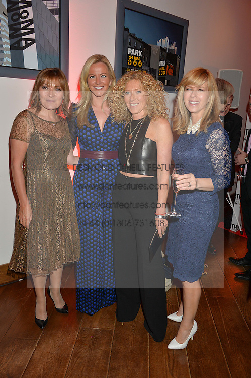 Left to right, LORRAINE KELLY, MICHELLE MONE, KELLY HOPPEN and KATE GARRAWAY at a party to celebrate the 21st anniversary of The Roar Group hosted by Jonathan Shalit held at Avenue, 9 St.James's Street, London on 21st September 2015.