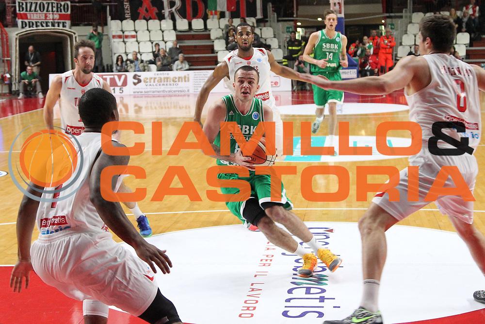 DESCRIZIONE: Varese FIBA Europe cup 2015-16 <br /> Openjobmetis Varese vs Sodertalje Kings<br /> GIOCATORE: Davis Lajasmeiers<br /> CATEGORIA: penetrazione<br /> SQUADRA: Sodertalje Kings<br /> EVENTO: FIBA Europe Cup 2015-2016<br /> GARA: EA7 Openjobmetis Varese Sodertalje Kings<br /> DATA: 22/12/2015<br /> SPORT: Pallacanestro<br /> AUTORE: Agenzia Ciamillo-Castoria/A. Ossola<br /> Galleria: FIBA Europe Cup 2015-2016<br /> Fotonotizia: Varese FIBA Europe Cup 2015-16 <br /> Openjobmetis Varese Sodertalje Kings