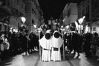 I riti della Settimana Santa a Taranto, Processione dei Misteri.