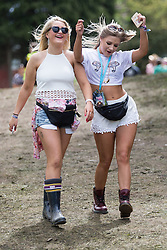 © Licensed to London News Pictures . 07/06/2015 . Manchester , UK . Festival goers arrive at The Parklife 2015 music festival in Heaton Park , Manchester . Photo credit : Joel Goodman/LNP