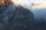 High Atlas mountain at sunrise, Tizi-n-Tichka, Morocco.