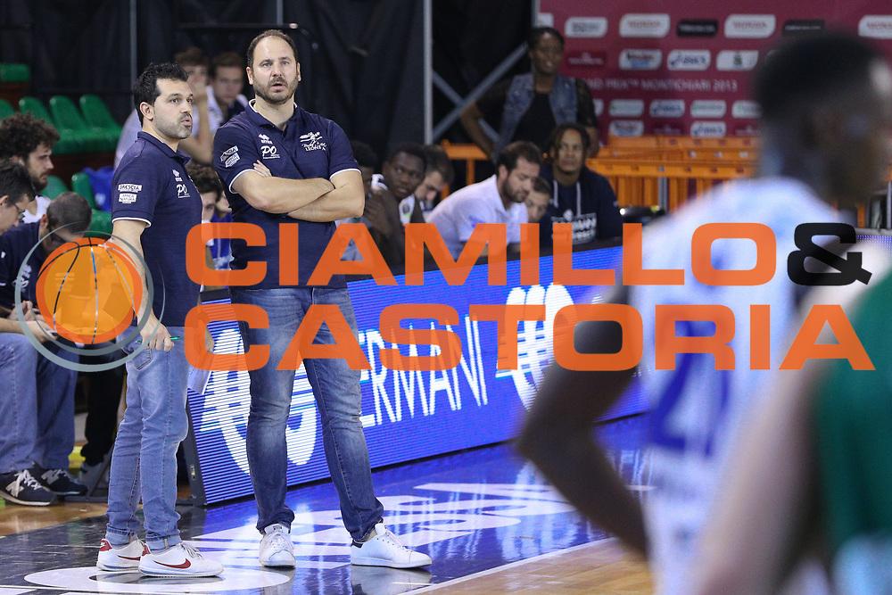 Diana Andrea e Magro Alessandro, Germani Basket Brescia vs Stelmet Zielona Gora, 2 edizione Trofeo Roberto Ferrari, PalaGeorge di Montichiari 22 settembre 2017