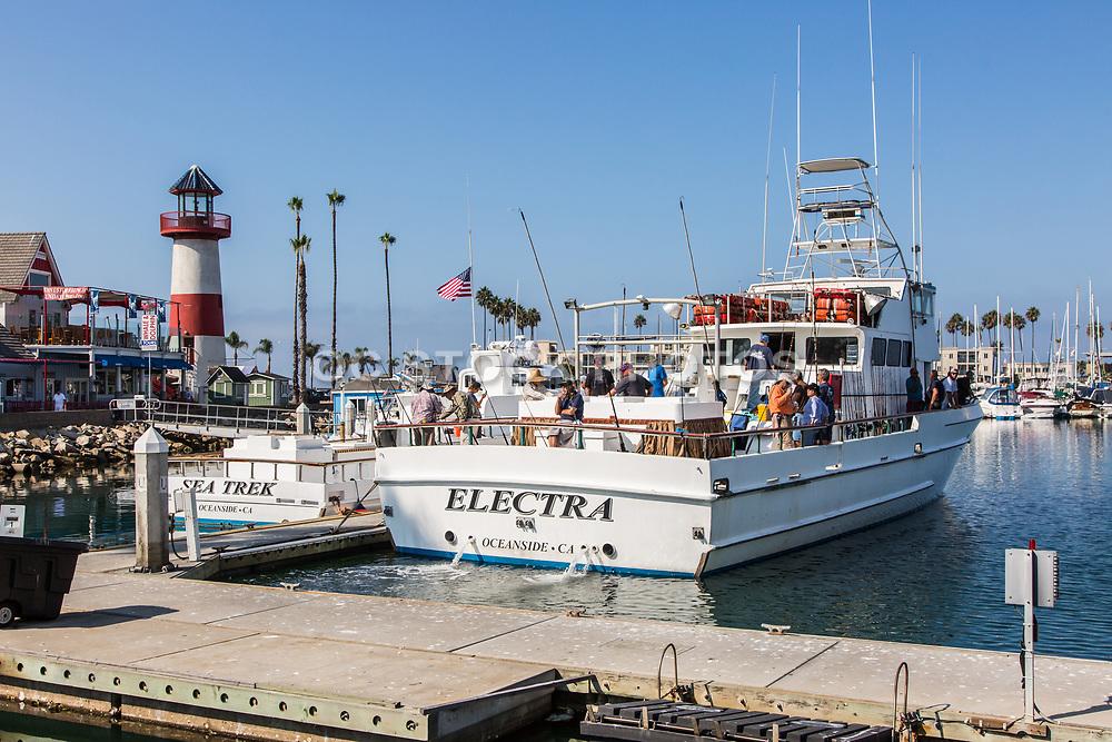 Fishing Boats at Oceanside Harbor