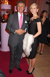 Actress MARGO STILLEY and ARNAUD BAMBERGER at a 'A Night in Cartier Paradise' to celebrate a new collection of jewellery by Cartier, held at The orangery, Kensington Palace, London W8 on 25th October 2005.<br /><br />NON EXCLUSIVE - WORLD RIGHTS