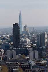 UK ENGLAND LONDON 20APR15 - View of the London skyline from the top of the Lexicon Building on City Road, EC1.<br /> <br /> <br /> <br /> jre/Photo by Jiri Rezac<br /> <br /> <br /> <br /> &copy; Jiri Rezac 2015