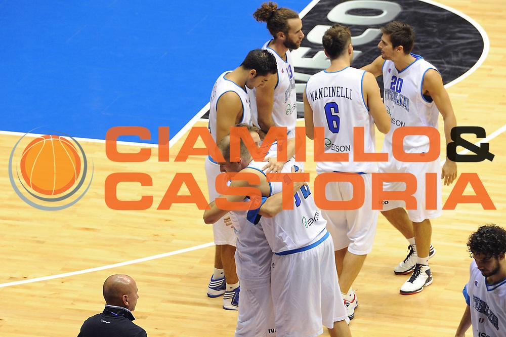 DESCRIZIONE : Trieste Amichevole Italia Croazia<br /> GIOCATORE : team<br /> CATEGORIA : team<br /> SQUADRA : Nazionale Italia Maschile<br /> EVENTO : Amichevole Italia Croazia<br /> GARA : Italia Croazia<br /> DATA : 08/08/2012<br /> SPORT : Pallacanestro<br /> AUTORE : Agenzia Ciamillo-Castoria/C.De Massis<br /> Galleria : FIP Nazionali 2012<br /> Fotonotizia :  Trieste Amichevole Italia Croazia<br /> Predefinita :