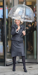 The Duchess of Cornwall today visited Broadcasting House, at the BBC, alongside Prince Charles, London, United Kingdom. Tuesday, 11th February 2014. Picture by i-Images