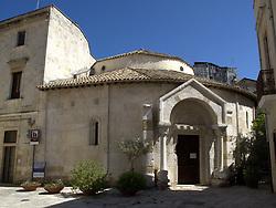 ITALY BRINDISI 11JUL09 - View of the temple of St. Giovanni di Sepolcro in Brindisi city centre. ...jre/Photo by Jiri Rezac....© Jiri Rezac 2009