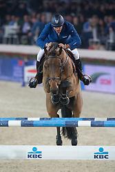 Garcia Juan Carlos (ITA) - Prince<br /> Prijs KBC Bank & Verzekeringen<br /> Flanders Christmas Jumping - Mechelen 2012<br /> © Dirk Caremans