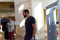 Nikola Karabatic - 17.06.2015 - Proces des paris sportifs du Handball - Montpellier<br /> Photo : Alexandre Dimou / Icon Sport