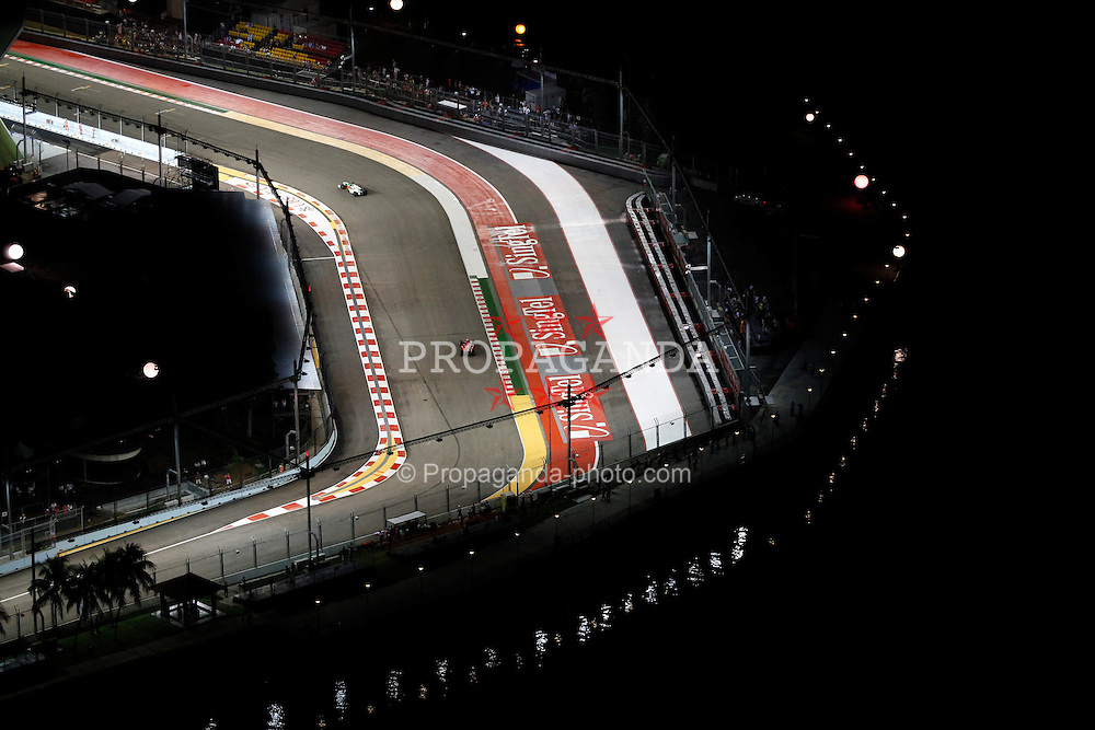 Motorsports / Formula 1: World Championship 2010, GP of Singapore, Singapore City Circuit, general view,