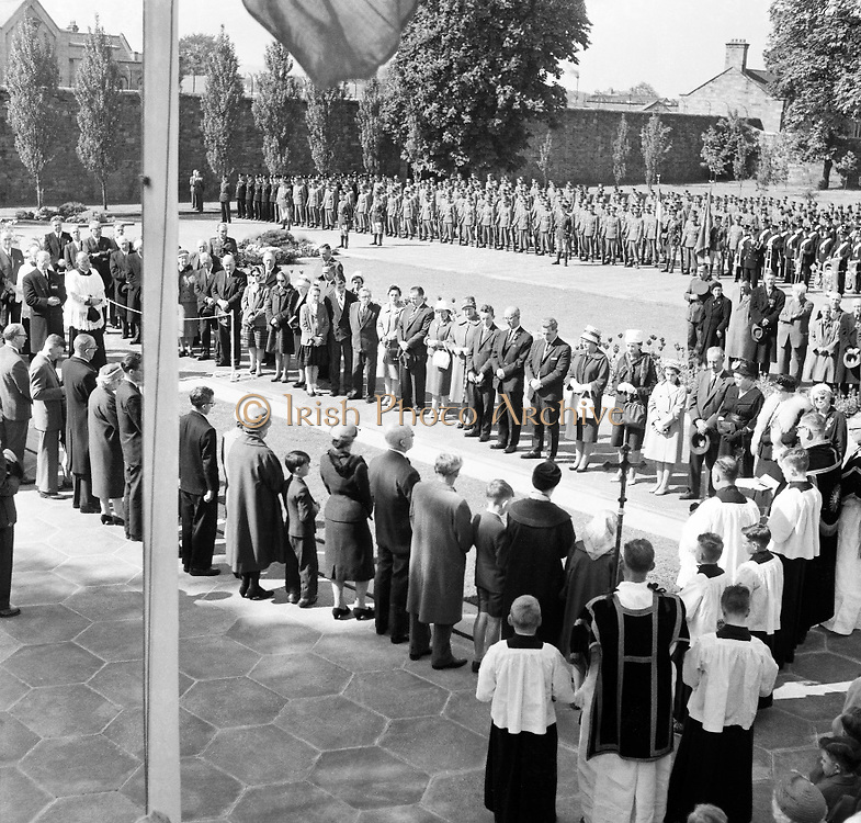 1916 Commemoration at Arbour Hill, 10th, May, 1961