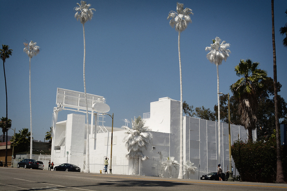 The white wash Bates Motel in Los Angeles, CA 5/4/15
