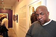New York, NY- MARCH 10:  Video Music Box Founder Ralph McDaniels at the Opening Reception of ' THE BOX THAT ROCKS: 30 Years of Video Music Box and the Rise of Hip Hop Music & Culture held at the Museum of Contemporary African Diasporan Arts (MoCADA) on March 10, 2012 in Brooklyn, New York City. (Photo by Terrence Jennings)