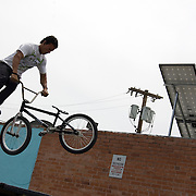 Freestyling demonstration at the first-ever Cyclovia Tucson. Bike-tography by Martha Retallick.