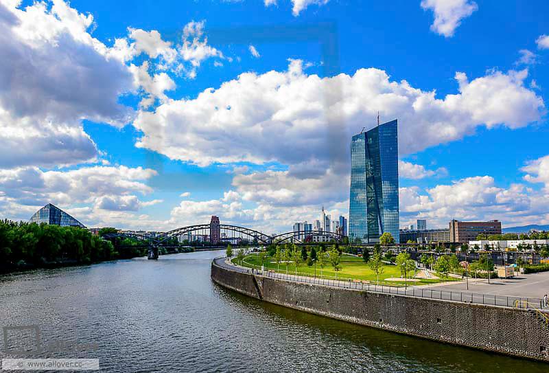 ECB, European Central Bank, Frankfurt, Germany