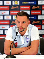 England's Danny Drinkwater (Leicester City) speaks to the media - Mandatory byline: Matt McNulty/JMP - 22/03/2016 - FOOTBALL - St George's Park - Burton Upon Trent, England - Germany v England - International Friendly - England Training and Press Conference