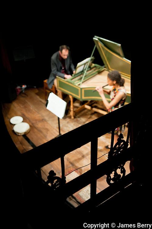 Charlotte Barbour-Condini & David Gordon. Hoxton Hall.