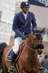 De Ponnat Aymeric (FRA) - Armitage Boy<br /> Grand Prix Longines de la Ville de La Baule<br /> CSIO La Baule 2013<br /> © Dirk Caremans