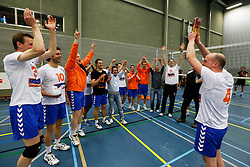 20-04-2013 VOLLEYBAL: TRIADE VCT - PARTICOLARE : TILBURG<br /> Particolare Kampioen 1ste divisie B 2012 - 2013<br /> &copy;2013-FotoHoogendoorn.nl / Pim Waslander