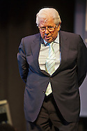 March 20, 2012 - Hempstead, New York, U.S. - CARL BERNSTEIN, investigative journalist, answers audience questions after speaking on 40th Anniversary of the Watergate political scandal, at Hofstra University. The lecture was about Woodward and Bernstein's investigation, while Washington Post reporters, into the break-in, and its cover-up, of the Democratic National Headquarters at the Watergate office complex in Wash. DC, which lead to the resignation of Pres. Nixon.