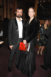EVGENY LEBEDEV and LADY GABRIELLA WINDSOR at a gala in aid of the Raisa Gorbachev Charitable Foundation in honour of the late Russian dancer Maris Liepa held at The London Coliseum, London on 24th February 2008.<br /><br />NON EXCLUSIVE - WORLD RIGHTS