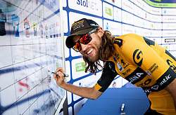 Timothy Guy (AUS) of Ljubljana Gusto Santic prior to the 1st Stage of 26th Tour of Slovenia 2019 cycling race between Ljubljana and Rogaska Slatina (171 km), on June 19, 2019 in  Slovenia. Photo by Vid Ponikvar / Sportida