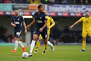 Timothee Dieng of Southend United in action during the EFL Sky Bet League 1 match between Southend United and Oxford United at Roots Hall, Southend, England on 6 October 2018.