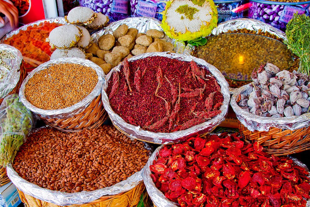 Spices shop. Ürgüp. Cappadocia, Turkey.