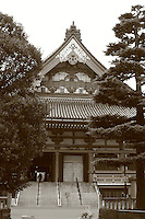 Mar 6, 2006; Tokyo, JPN; Asakusa.East facade of the Senso-ji temple...Photo credit:  Darrell Miho