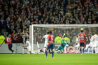 But de Divock Origi - 15.03.2015 - Lille / Rennes - 29e journee Ligue 1<br /> Photo : Andre Ferreira / Icon Sport