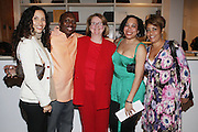l to r: Melanie Sharee, Reggie Scott, Terry Lawler, Tsai Moses, and Dolly Turner at The American Black Film Festival New York Buzz Party Sponsored by New York Women in Film & Television hosted by Tsia Moses on April 30, 2009 held at Sundaram Tagore Gallery in NYC.