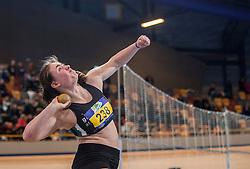 11-02-2017 NED: AA Drink NK Indoor, Apeldoorn<br /> Jorinde van Klinken 238