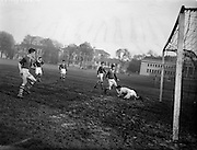22/02/1957<br /> 02/22/1957<br /> 22 February 1957 <br /> U.C.C. v U.C.G., Collingwood Cup, at College Park, Trinity College, Dublin.