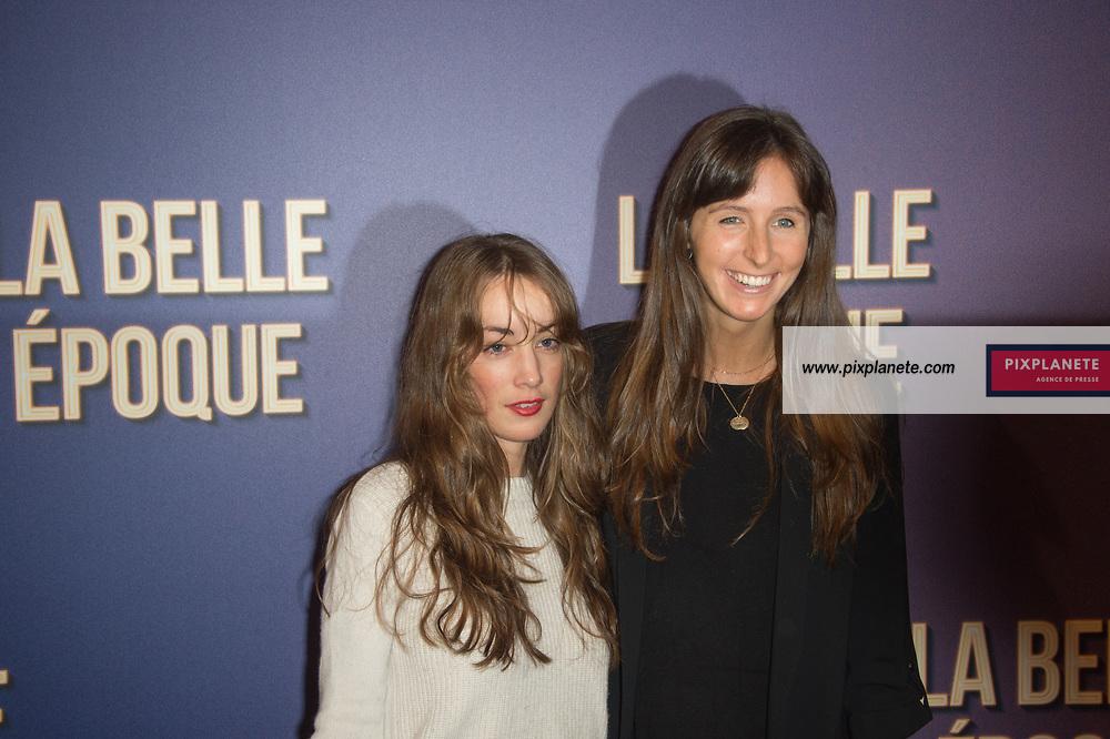 Clemence Rochefort et Juliette Besson Avant première du film La Belle Epoque Jeudi 17 Octobre 2019 Gaumont Opéra Paris