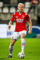 ALKMAAR - 04-12-2015, AZ - ADO Den Haag, AFAS Stadion, AZ speler Jop van der Linden