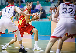 Vujisic  Viktor of Montenegro during basketball match between National teams of Germany and Montenegro in the 11th place Classifications of FIBA U18 European Championship 2019, on August 4, 2019 in Portaria Hall, Volos, Greece. Photo by Vid Ponikvar / Sportida