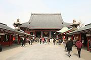 Mar 9, 2006; Tokyo, JPN; Asakusa.Visitors just outside the the Senso-ji Buddhist temple...Photo credit: Darrell Miho