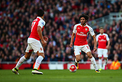 Mohamed Elneny of Arsenal - Mandatory byline: Jason Brown/JMP - 07966386802 - 30/04/2016 - FOOTBALL - Emirates Stadium - London, England - Arsenal v Norwich City - Barclays Premier League