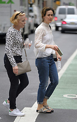 August 14, 2017 - New York, New York, United States - Actress Sarah Paulson and her partner Holland Taylor went shopping in Soho on August 14 2017 in New York City  (Credit Image: © Curtis Means/Ace Pictures via ZUMA Press)