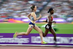 Laura Muir of Great Britain in action - Mandatory byline: Patrick Khachfe/JMP - 07966 386802 - 05/08/2017 - ATHLETICS - London Stadium - London, England - Women's 1,500m Semi Final - IAAF World Championships