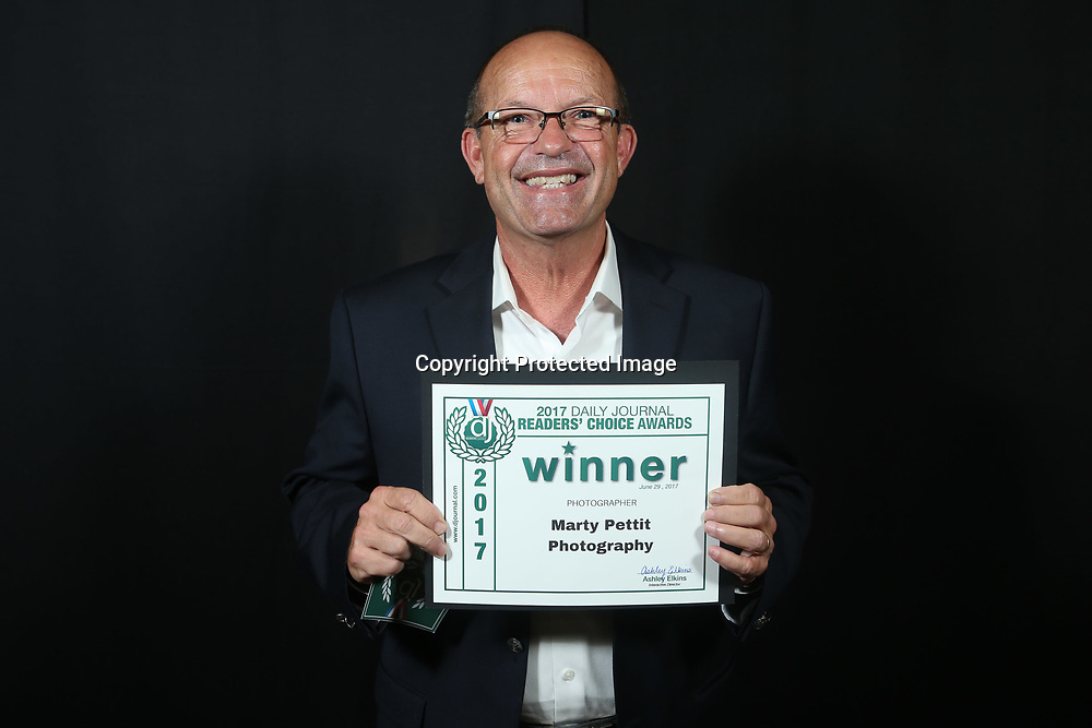 Marty Pettit Photography was voted best photographer at the 2017 Readers' Choice Awards.