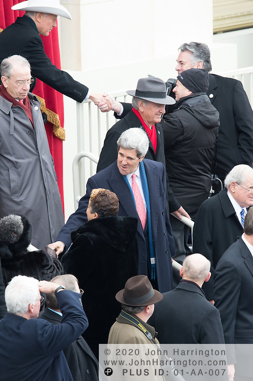 Sen. John Kerry at the 57th Presidential Inauguration of President Barack Obama at the U.S. Capitol Building in Washington, DC January 21, 2013.