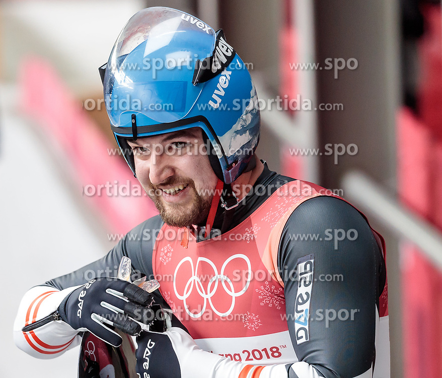 11.02.2018, Olympic Sliding Centre, Pyeongchang, KOR, PyeongChang 2018, Rodeln, Herren, 3. Lauf, im Bild David Gleirscher (AUT) // David Gleirscher of Austria during the Men's Luge Singles Run 3 competition at the Olympic Sliding Centre in Pyeongchang, South Korea on 2018/02/11. EXPA Pictures © 2018, PhotoCredit: EXPA/ Johann Groder