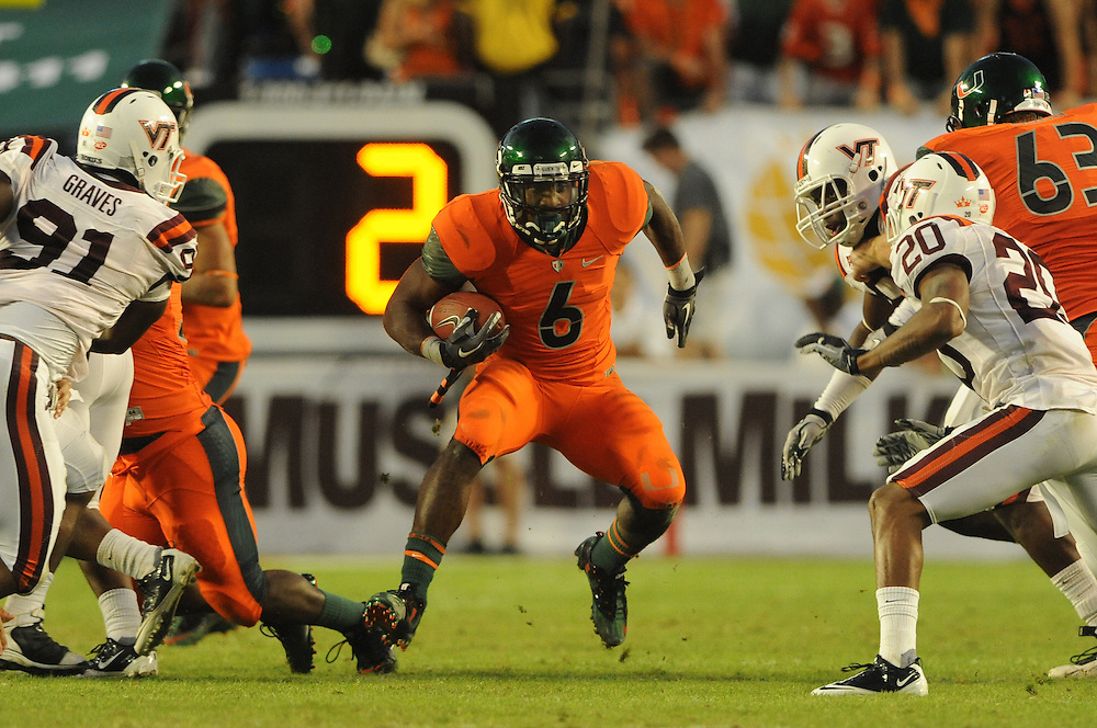 2010 Miami Hurricanes Football vs Virginia Tech